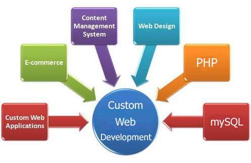 Custom Website Designing, Development, Services, Company, Delhi, Noida, India