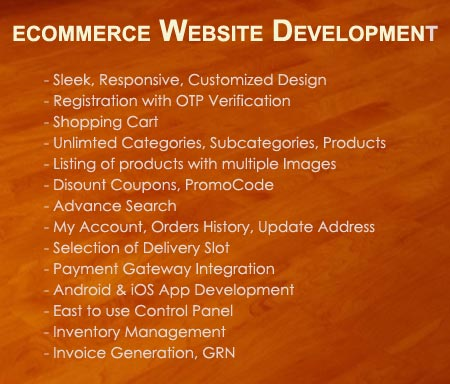 Ecommerce Website Designing, Development, Services, Company, Noida, Delhi, India