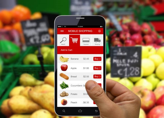 Grocery Shopping Mobile App Development