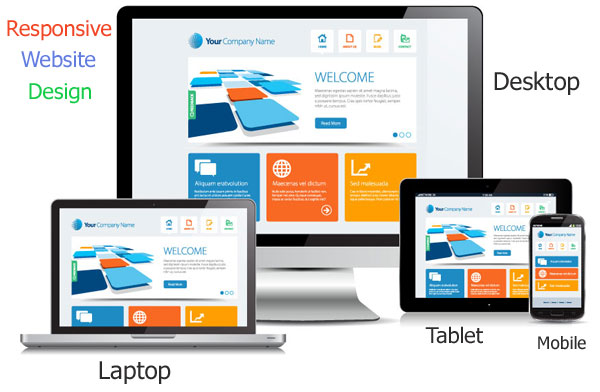 Responsive Website Designing, Services, Company in Noida, Delhi, India